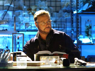 William Petersen as CSI Supervisor Dr. Gil Grissom
