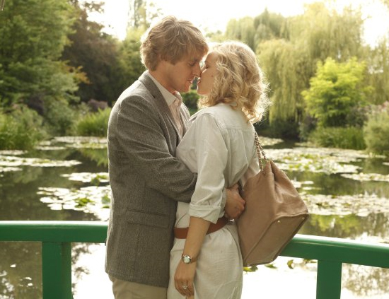 Owen Wilson and Rachel McAdams play Gil and Inez.