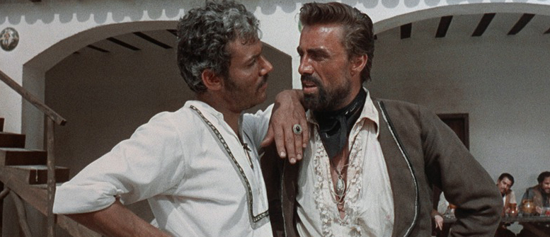 Ramon and Esteban Rojo lead one of the two rival gangs in the film