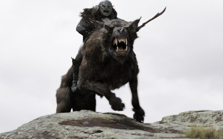 A scene with Warg-riding Orcs was one culprit of HFR-hampered CGI