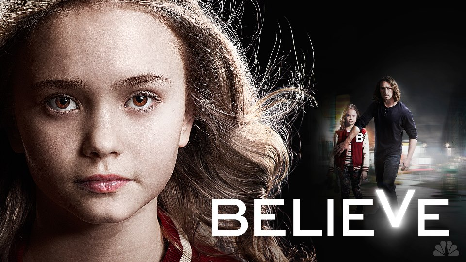 The trailer for 'Believe' showed at the NBC Upfront meeting, but has been repeatedly ripped down online