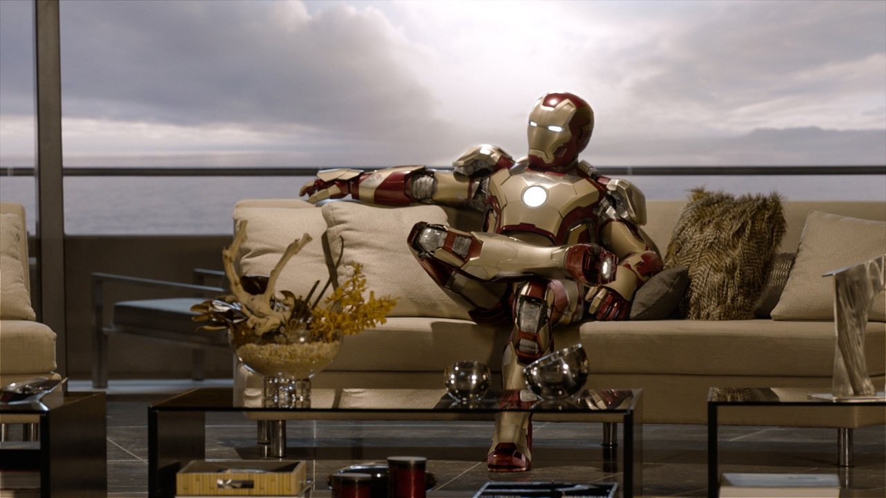 Tony becomes increasingly dependent on the Iron Man armor, leading to anxiety attacks when he's away from it