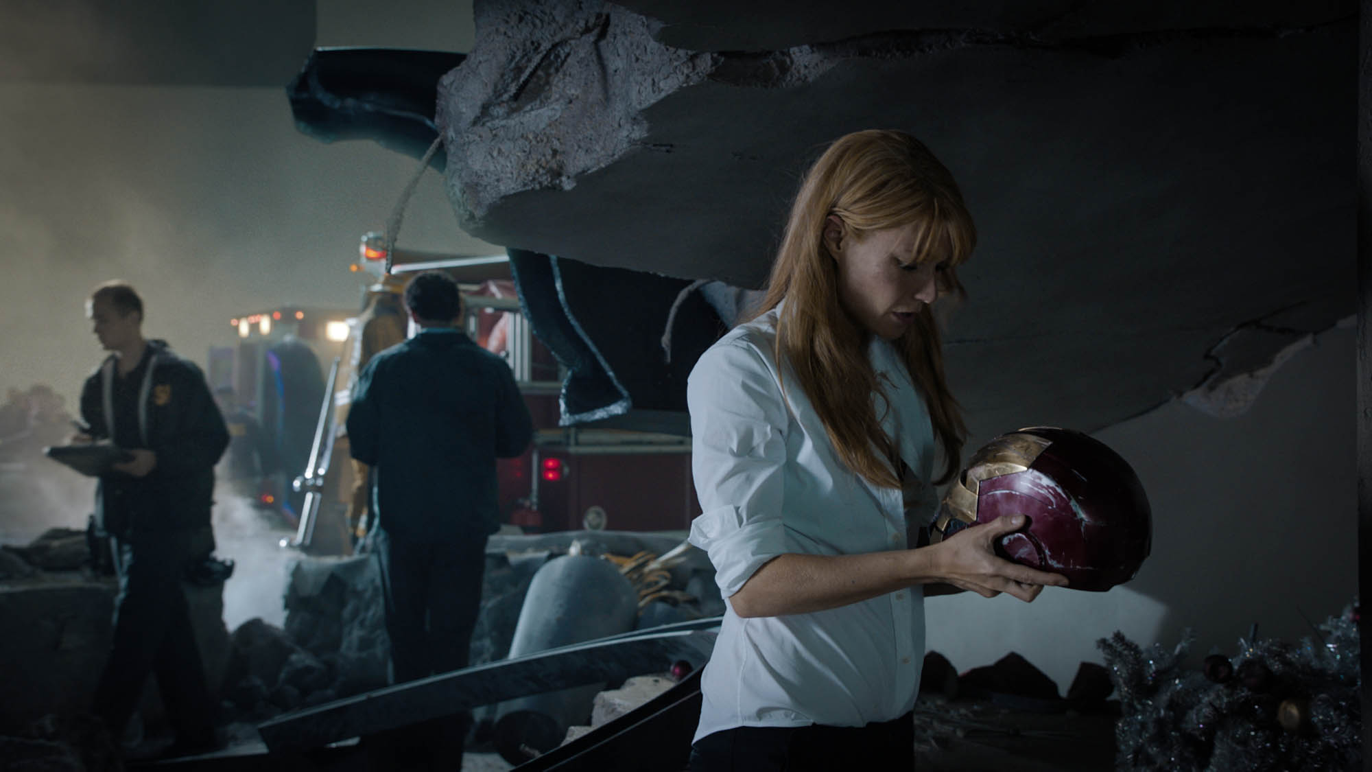 Gwyneth Paltrow as Stark Industries CEO Pepper Potts