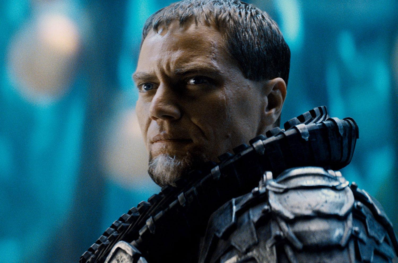 General Zod (Michael Shannon) seeks to flatten Earth's civilization to rebuild Krypton