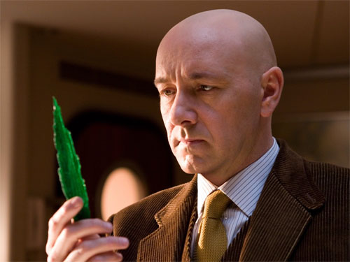 Kevin Spacey as Kryptonite-obsessed Lex Luthor in 2006's 'Superman Returns'