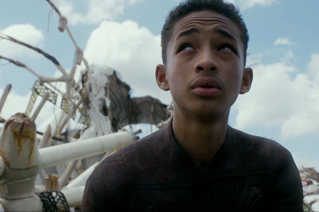 """Jaden Smith as Kitai Raige in """"After Earth"""""""