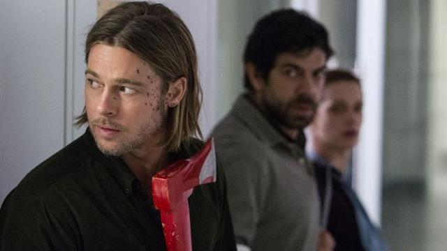 Brad Pitt as Gerry Lane, a U.N. investigator and the World's Luckiest Man