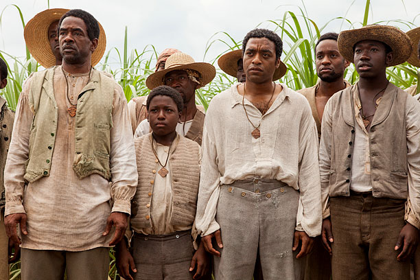 Steve McQueen's '12 Years  a Slave' stars Chiwetel Ejiofor (second from right).