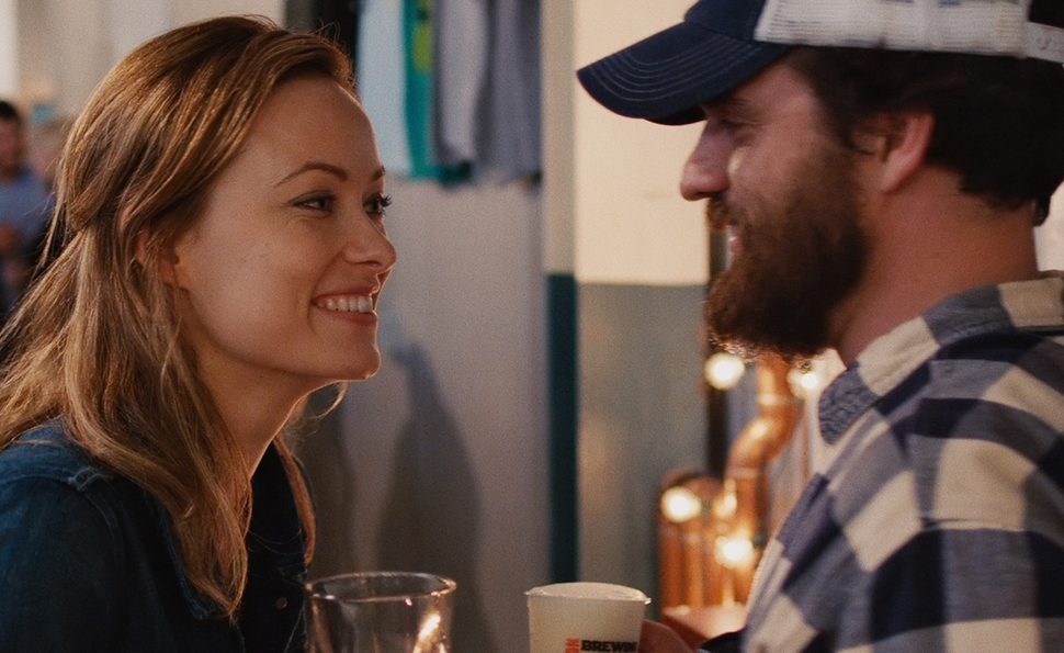 Olivia Wilde and Jake Johnson star in the Joe Swanberg film 'Drinking Buddies'.