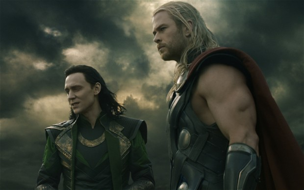 Thor must team up with his treacherous brother Loki (Tom Hiddleston) to defeat Malekith.