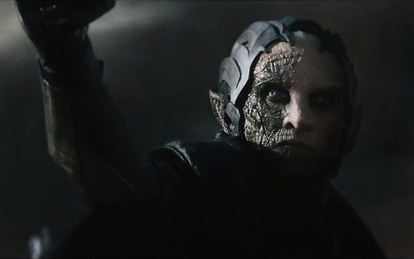 Christopher Eccleston as Malekith, a Dark Elf bent on destroying the universe.