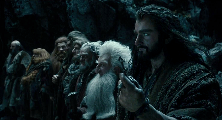 The Company of Dwarves seeks to regain their treasure hoard in the Lonely Mountain