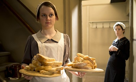 Sophie McShera as assistant cook Daisy, who deserves better treatment in this episode.