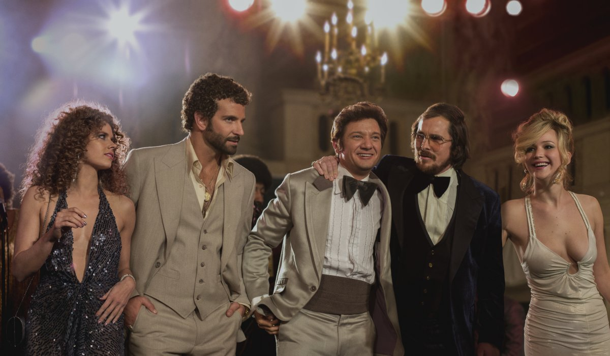 Adams, Cooper, Renner, Bale and Lawrence star in 'American Hustle'