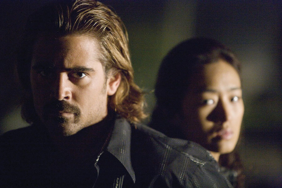 Colin Farrell plays vice cop Sonny Crockett in the film.