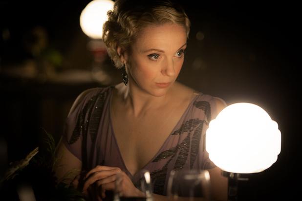 Amanda Abbington as Mary Watson.