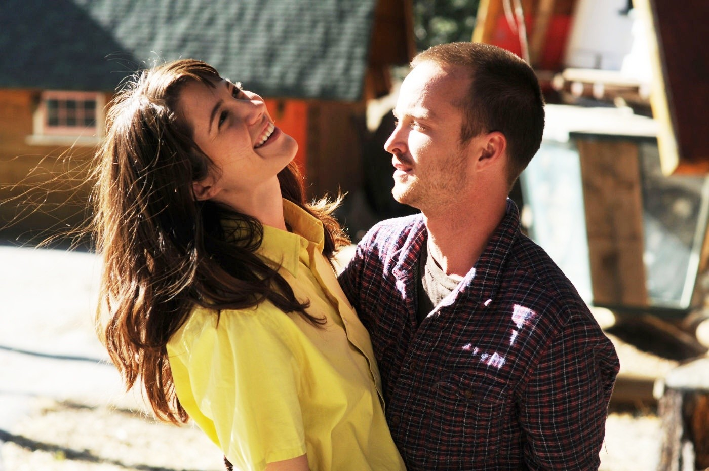 Mary Elizabeth Winstead and Aaron Paul star in 'Smashed'