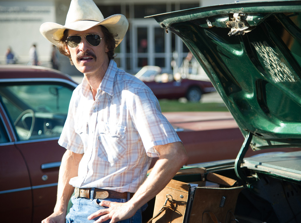Matthew McConaughey as Ron Woodroof in 'Dallas Buyers Club'.