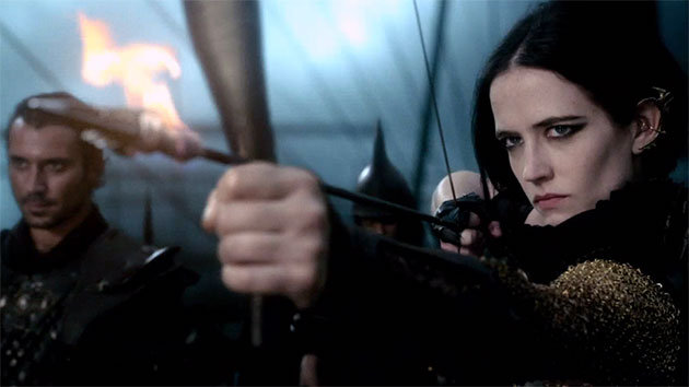 Eva Green as Persian naval commander Artemisia.