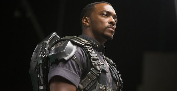 Anthony Mackie joins the team as Sam Wilson, a.k.a. The Falcon.