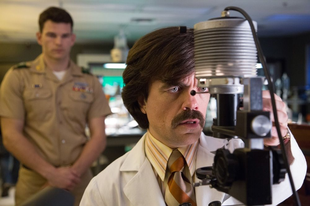 Peter Dinklage as Bolivar Trask, the inventor of the Sentinels.