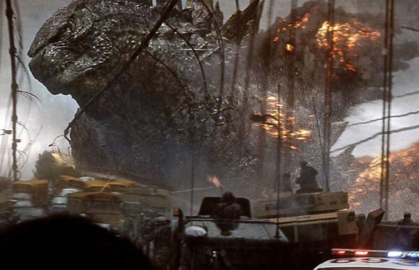 'Godzilla', directed by Gareth Edwards.