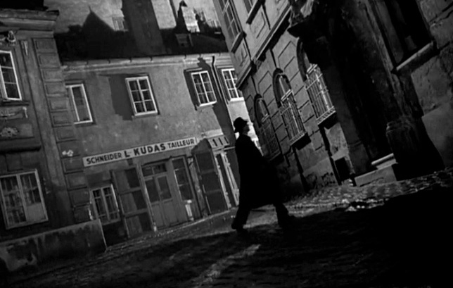 'The Third Man' is known for its oblique camera angles, which  suggest an off-kilter setting.