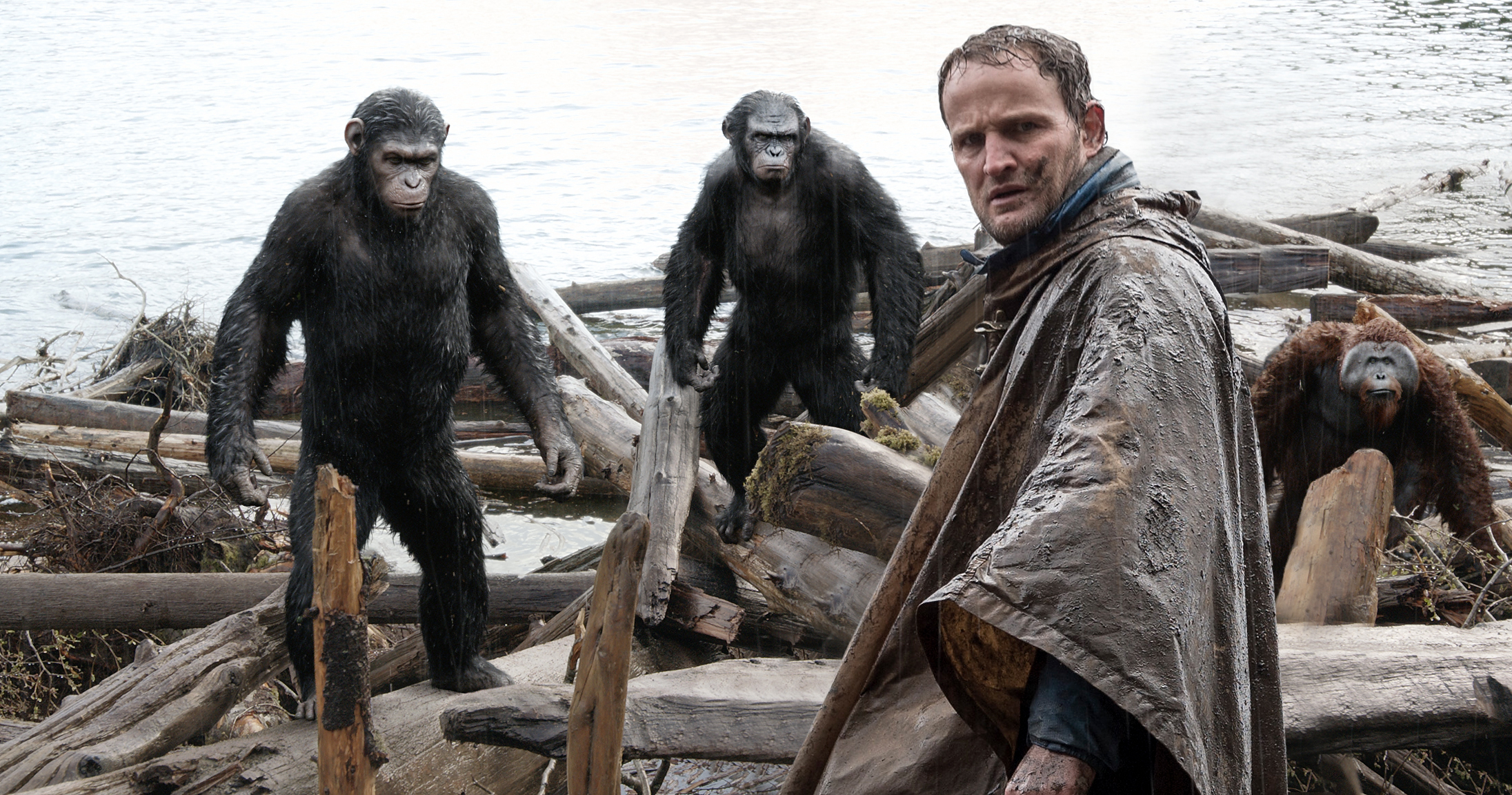 Jason Clarke as Malcolm, one of the few humans working for peace with the apes.