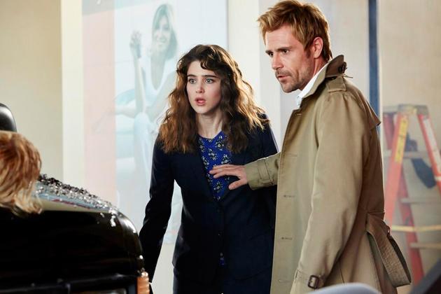 Matt Ryan as John Constantine in NBC's new comic book adaptation