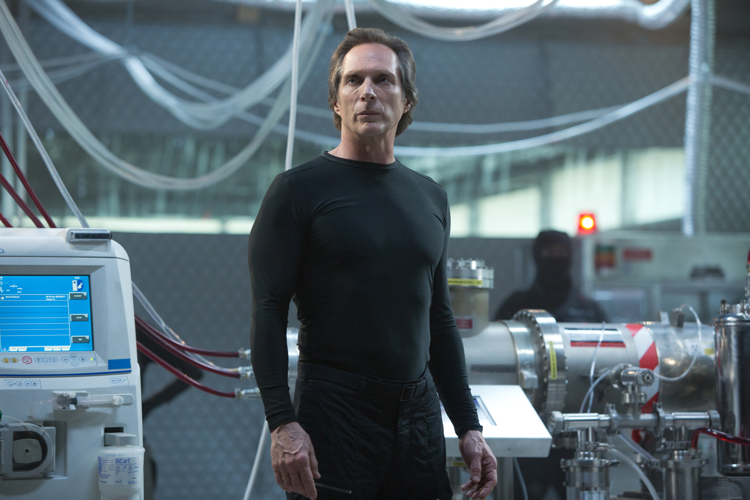William Fichtner as the villainous Eric Sacks