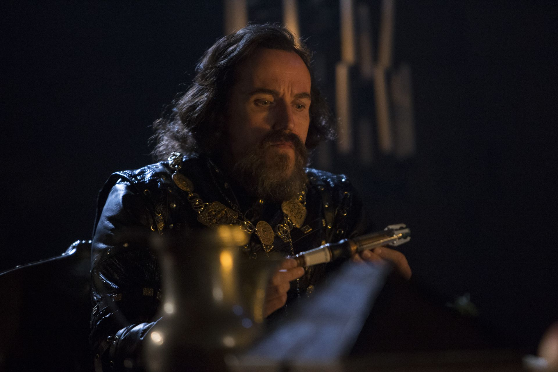 Ben Miller as the power-hungry Sheriff of Nottingham