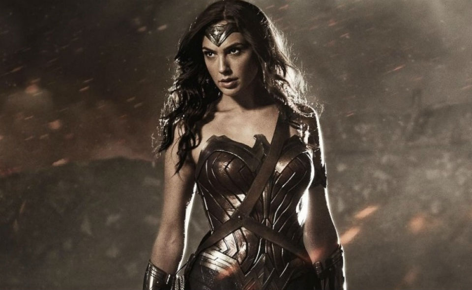Gal Gadot as Wonder Woman in the upcoming film 'Batman v Superman: Dawn of Justice'