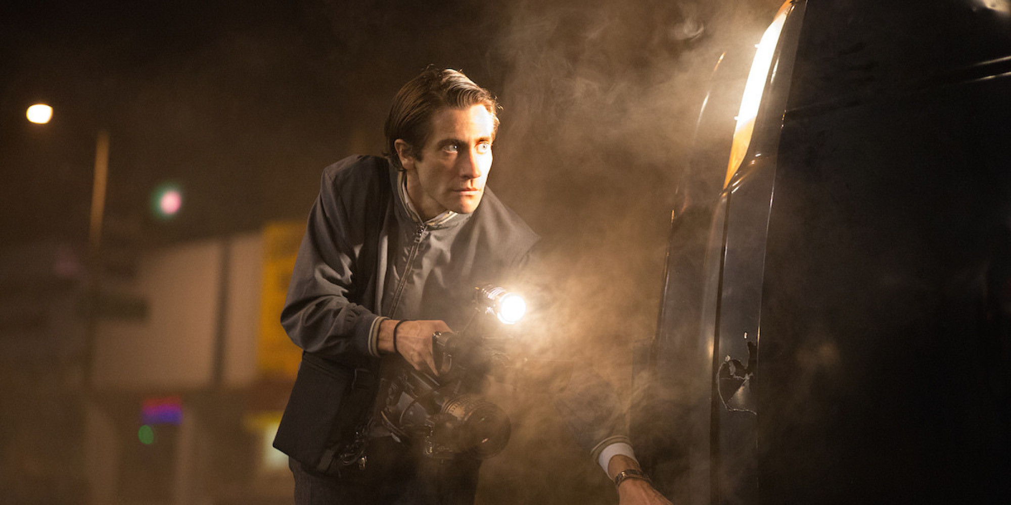 Jake Gyllenhaal stars as Lou Bloom in 'Nightcrawler'