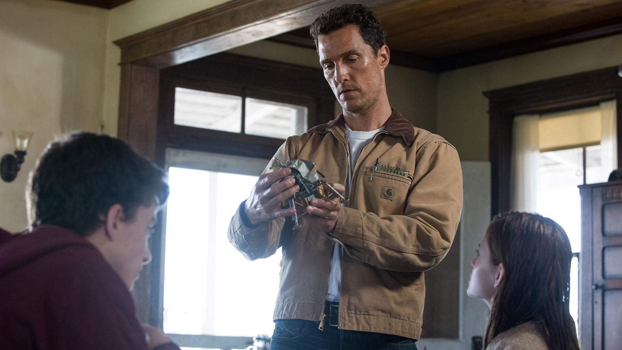 Matthew McConaughey stars as Cooper in Christopher Nolan's 'Interstellar'