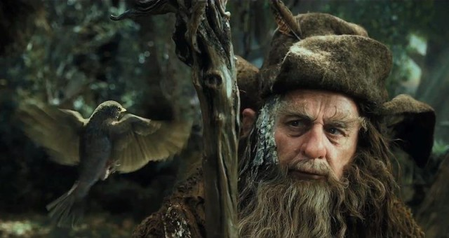 Sylvester McCoy as Radagast the wizard