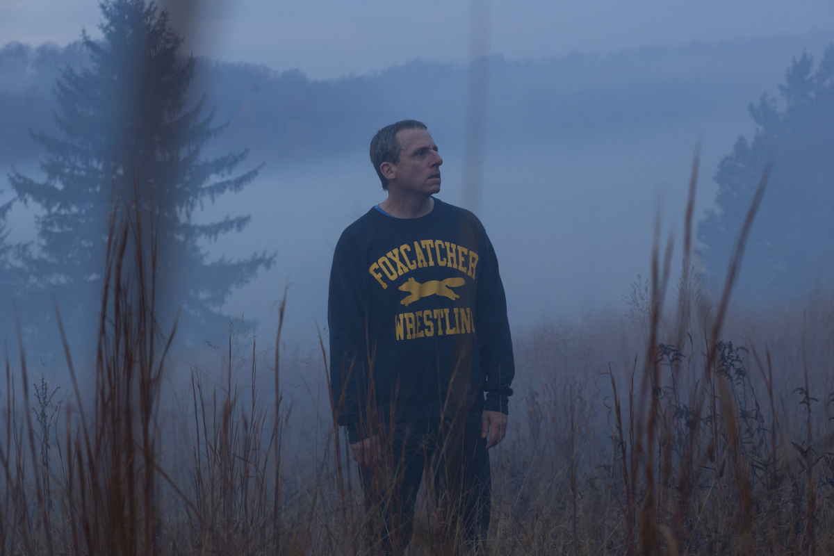 Steve Carell stars as John du Pont in 'Foxcatcher'
