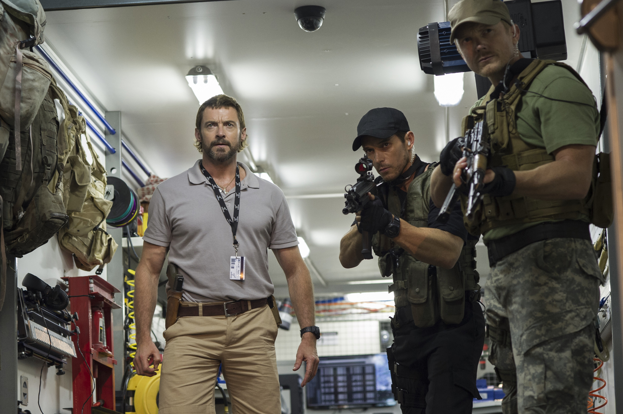 Hugh Jackman as Deon's colleague Vincent Moore