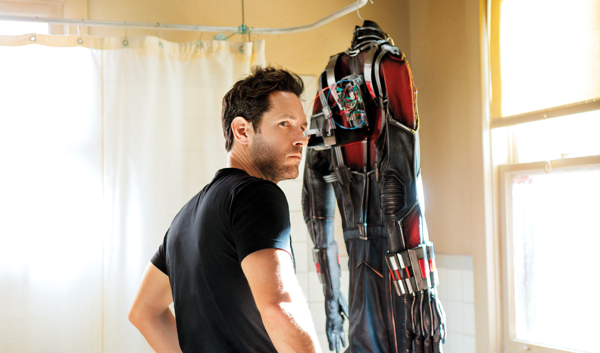Paul Rudd stars as Scott Lang in 'Ant-Man', directed by Peyton Reed.