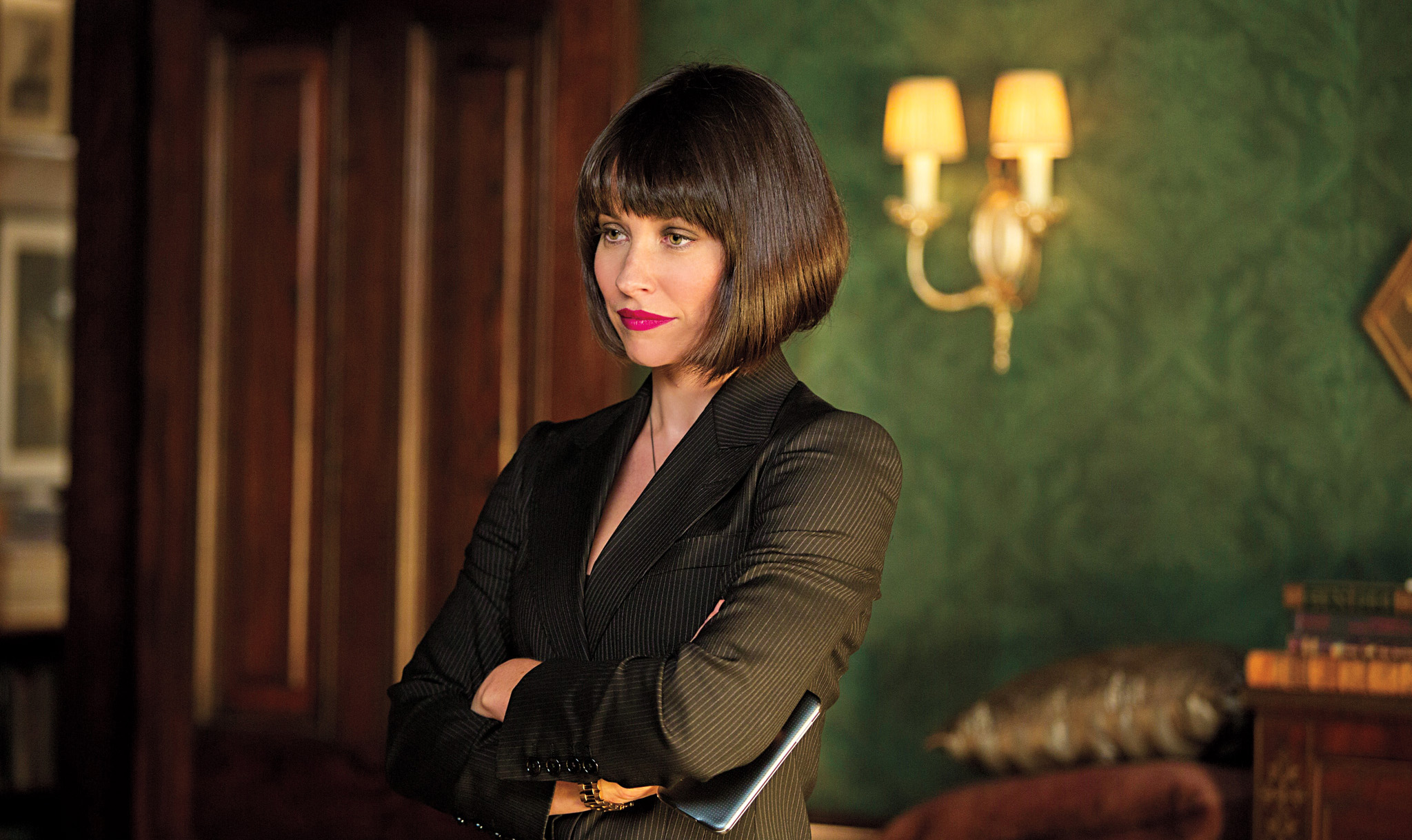 Evangeline Lilly as Hope van Dyne, daughter of Scott's mentor Hank Pym.