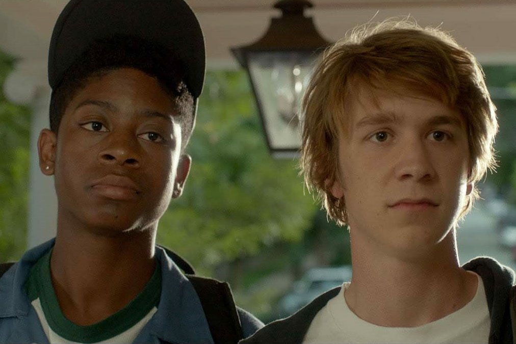 RJ Cyler and Thomas Mann as Earl and Greg.