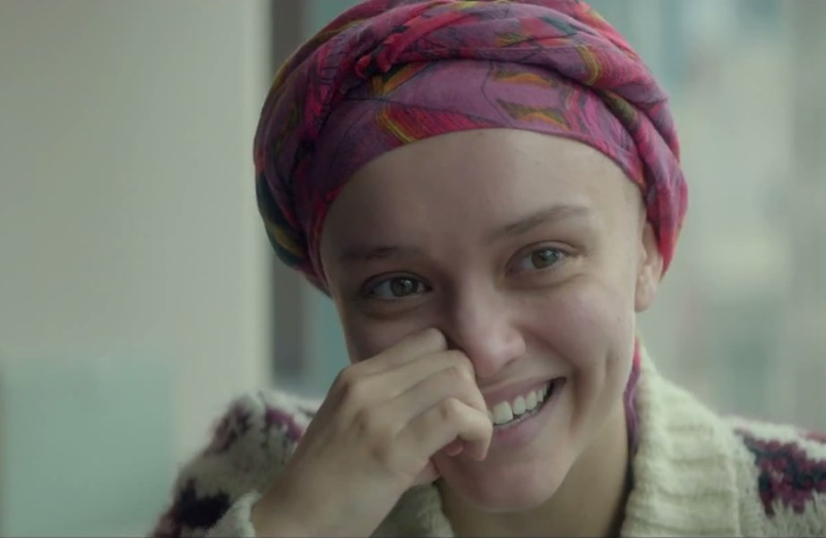 "Olivia Cooke as the titular ""dying girl"", Rachel, whose story is handled with humour and sensitivity."