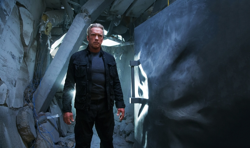 Arnold Schwarzenegger returns as a T-800 called 'Guardian' in 'Terminator: Genisys'