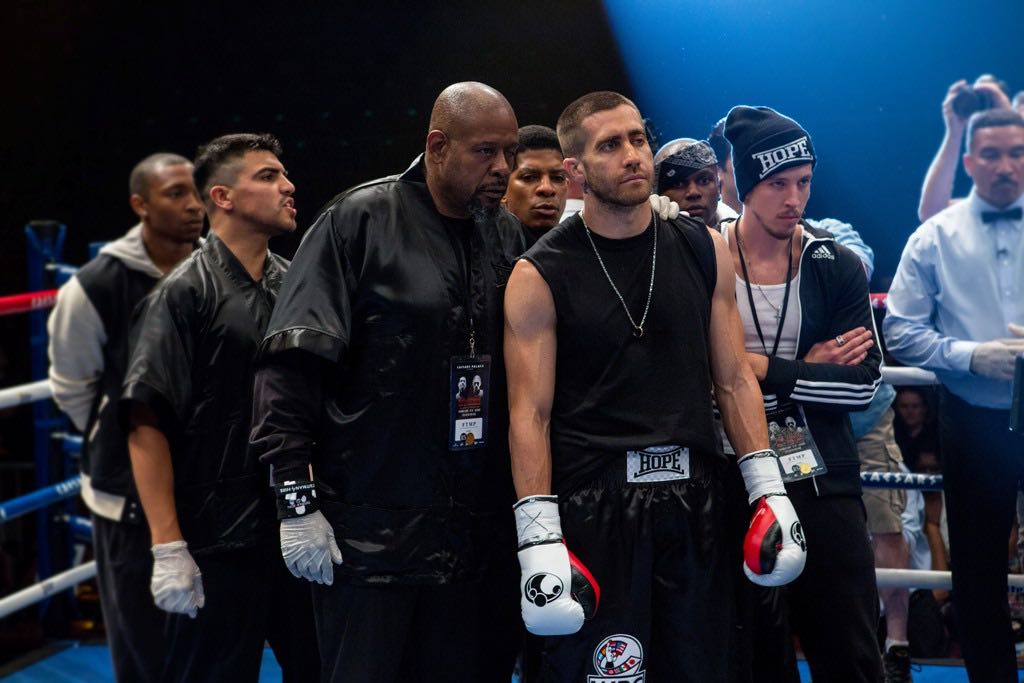 Forest Whitaker and Jake Gyllenhaal star in Southpaw.