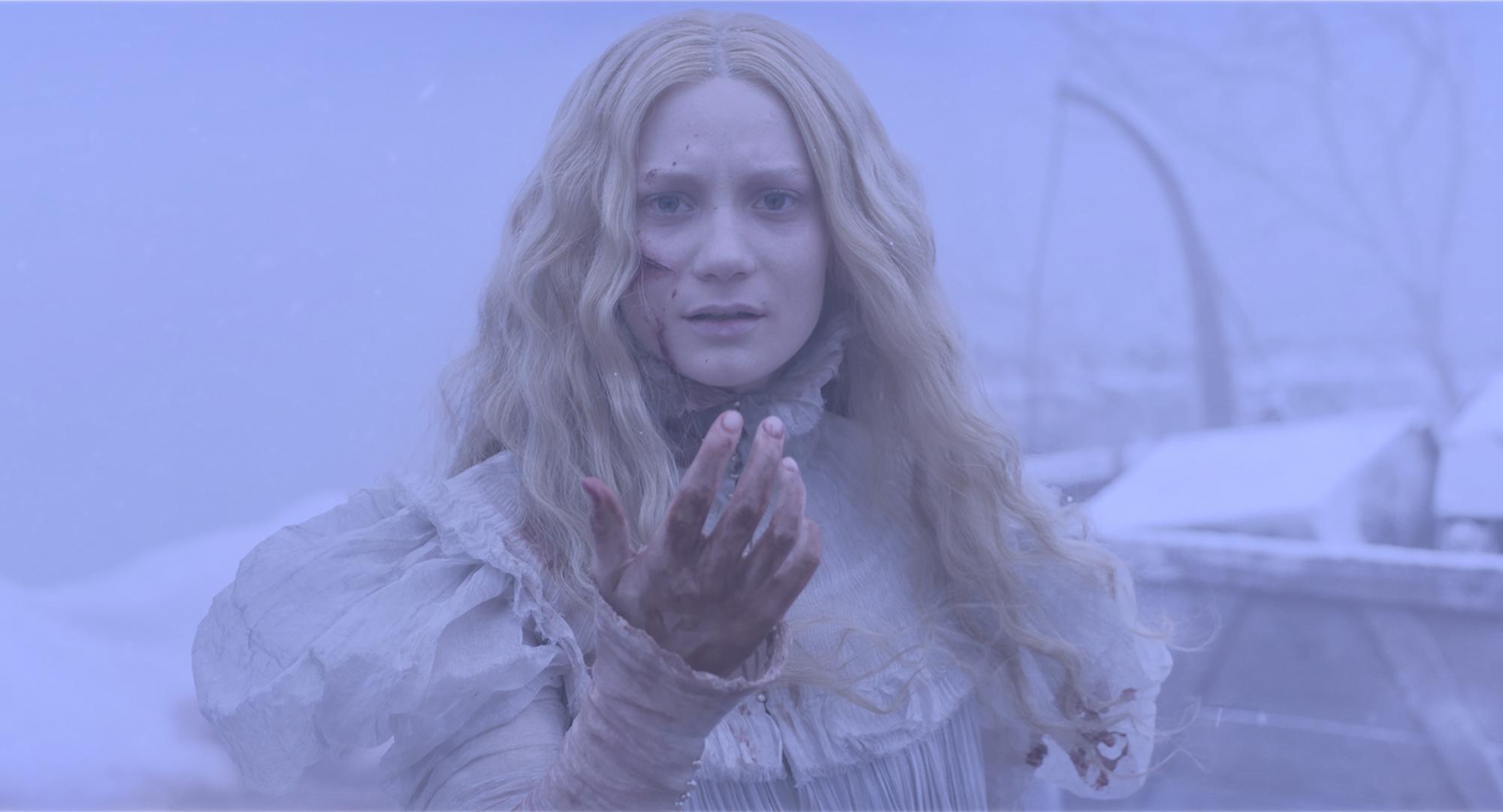 Mia Wasikowska is tortured by ghosts in 'Crimson Peak'