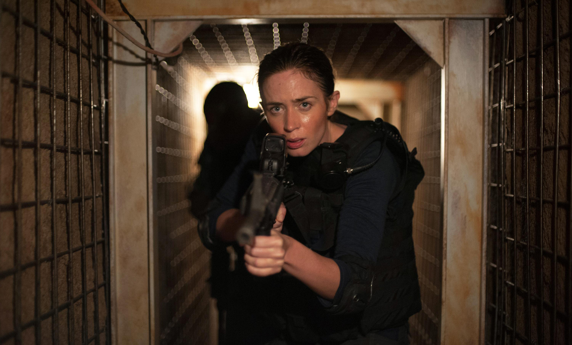 Emily Blunt as FBI agent Kate Macer in 'Sicario', directed by Denis Villeneuve.