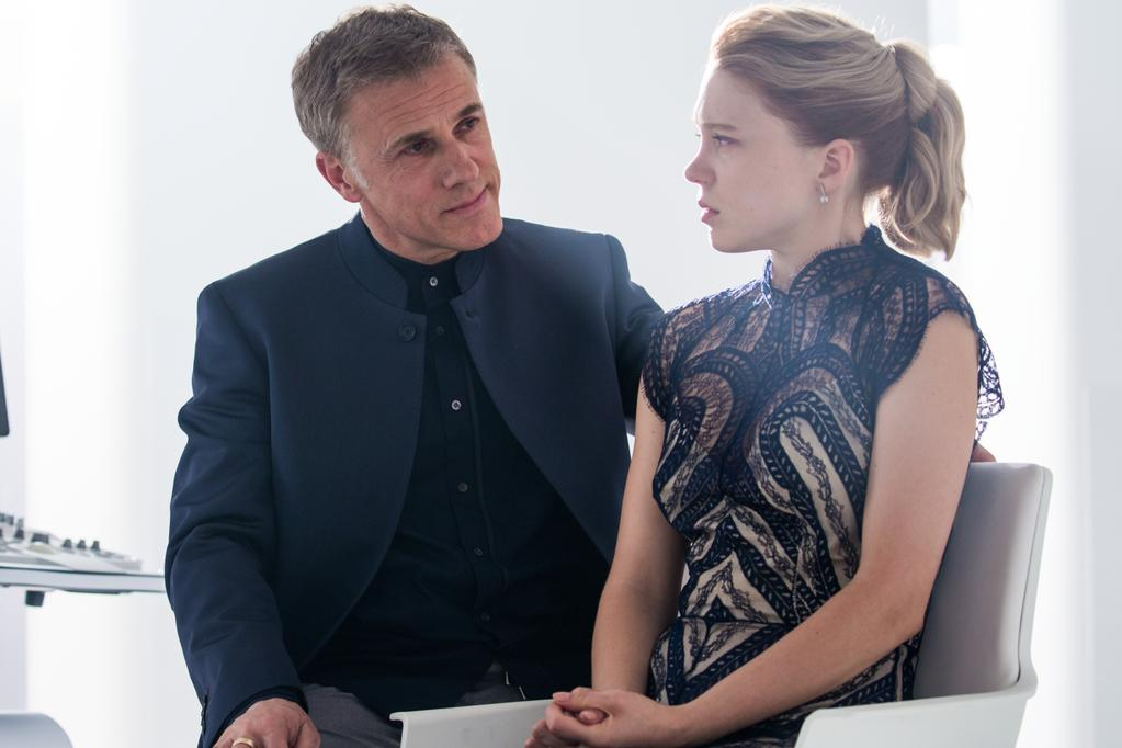 Christoph Waltz makes a play for world domination as Oberhauser