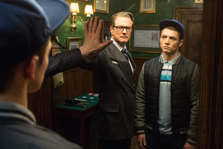 'Kingsman: The Secret Service' was a surprise January hit.