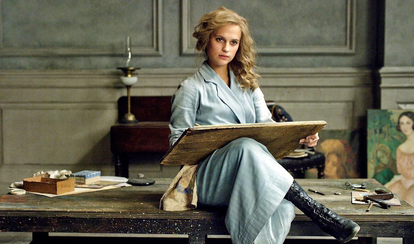 Alicia Vikander in The Danish Girl, directed by Tom Hooper.
