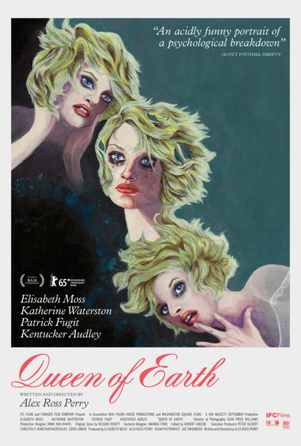 Queen of Earth poster