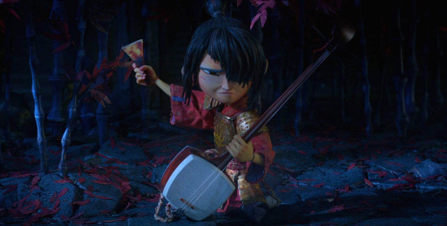 Kubo and the Two Strings features the voices of Charlize Theron, Matthew McConaughey and Rooney Mara
